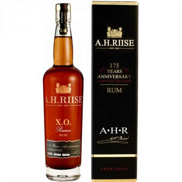A.H. RIISE X.O. 175 TH. ANNIVERSARY 1838-2013, RESERVE RUM, 42%