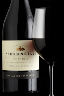 Pedroncelli Winery Pinot Noir Russian River 2014