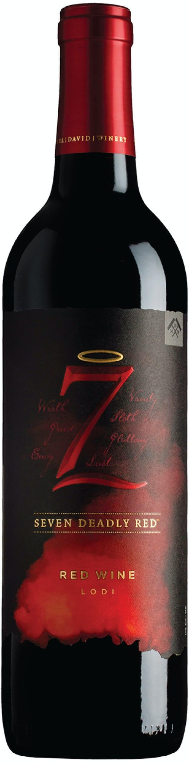 7 Deadly Red Blend 2017