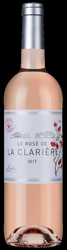 Le Rosé de la Clarií¨re Bordeaux 2018