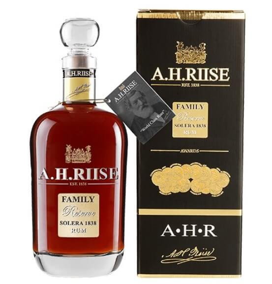 A.H. Riise Family Reserve Solera 1838 Rum